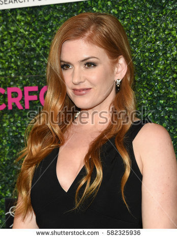 LOS ANGELES - FEB 16: Isla Fisher arrives for the An Unforgettable Evening  on February