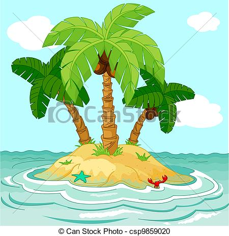 Desert Island Illustrations And Clipart.-Desert island Illustrations and Clipart. 1,694 Desert island royalty free  illustrations, drawings and graphics available to search from thousands of  vector ClipartLook.com -6