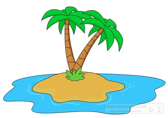 Island Clipart Clipart Island Palm Tree Clipartfest Wikiclipart for Island  Clipart 22569