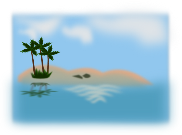 Island In The Ocean Clip Art At Clker Co-Island In The Ocean Clip Art At Clker Com Vector Clip Art Online-3