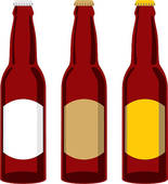 ... Isolated Beer Bottles Set-... isolated beer bottles set-11