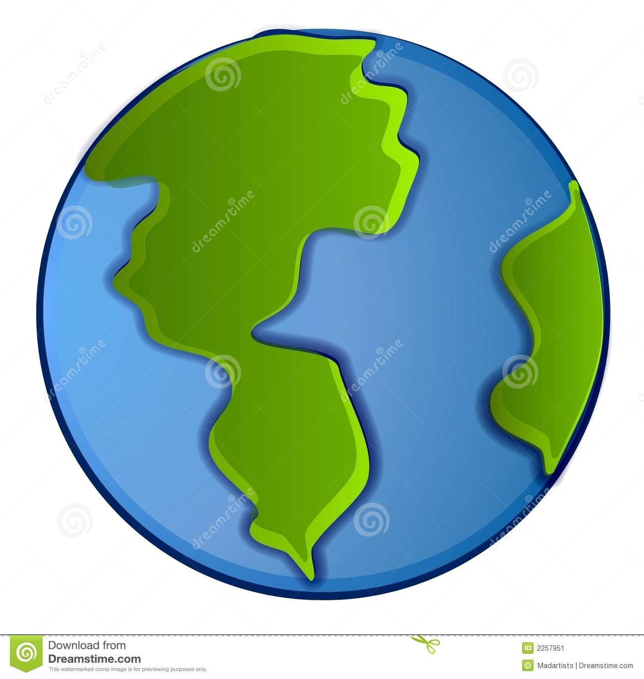 Isolated Planet Earth Clip Art-Isolated Planet Earth Clip Art-10
