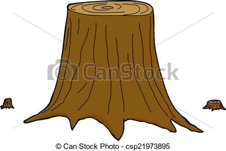 ... Isolated Tree Trunks - Three Isolate-... Isolated Tree Trunks - Three isolated cut cartoon tree.-9