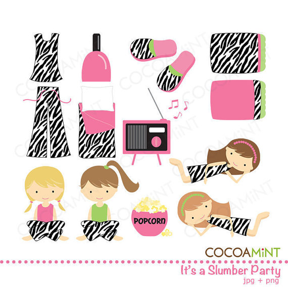 Itu0026#39;s a Slumber Party Clip Art ..