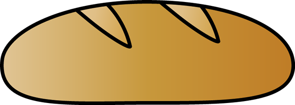 Italian Bread - Loaf Of Bread Clip Art