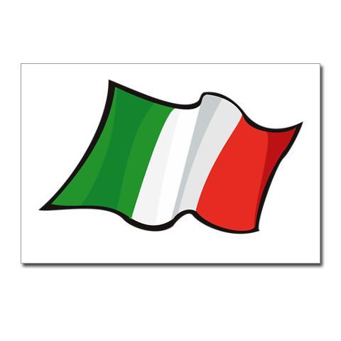 Italian Flag Clipart .