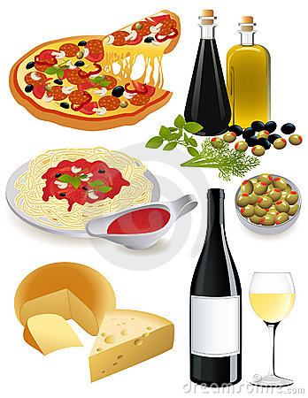 Italian Food Royalty Free Stock Photography Image 8609357