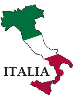 Italy Clip Art - Italian Flag Clip Art