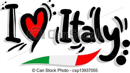 I love italy - csp13937055