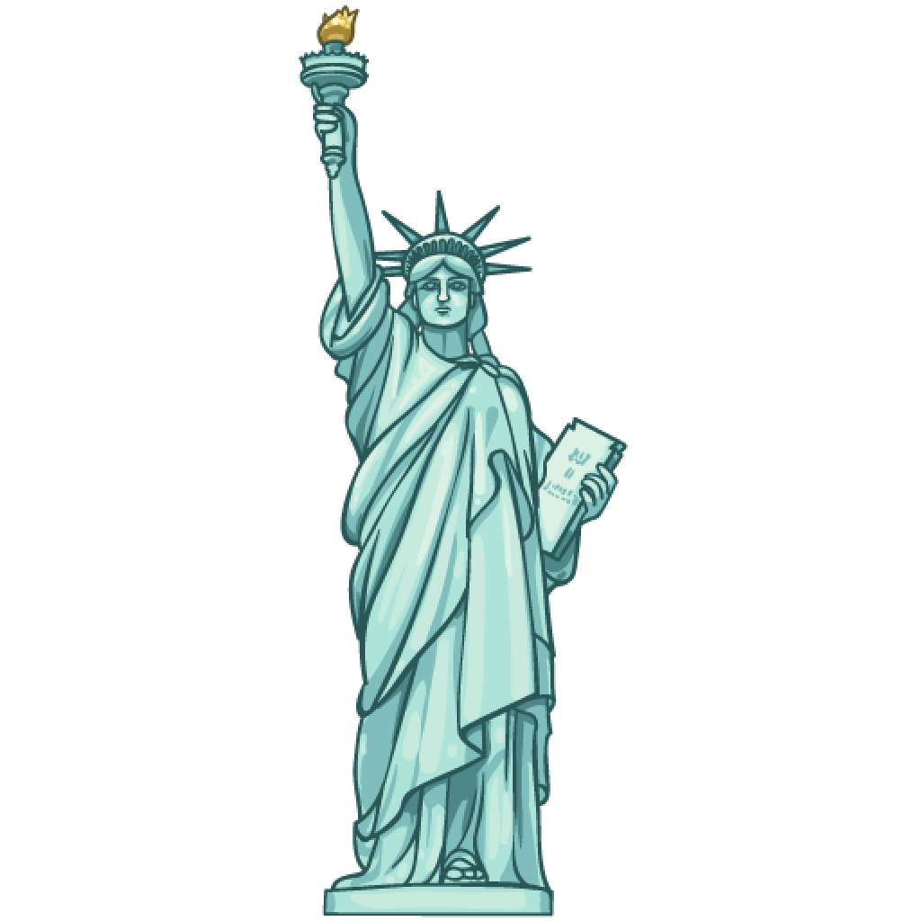 Item Detail Statue Of Liberty - Statue Of Liberty Clipart