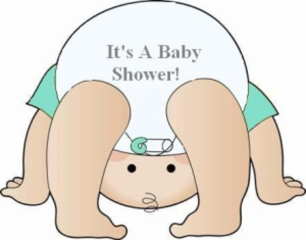 Its A Diaper Shower Free Images At Clker Com Vector Clip Art