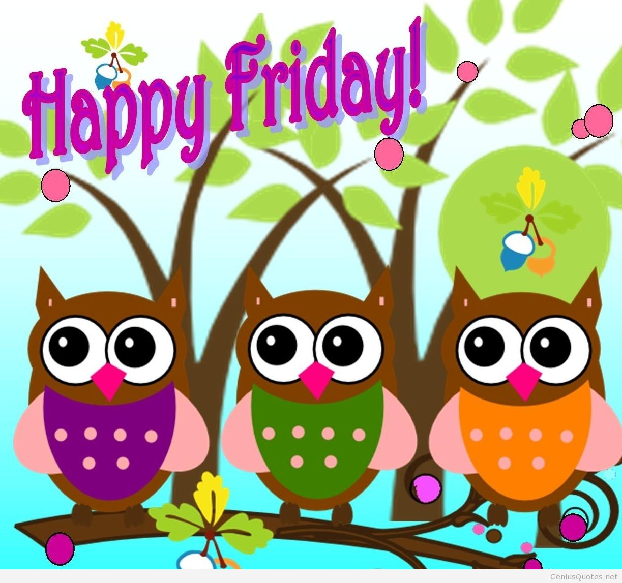 Its Happy Friday Clipart #1
