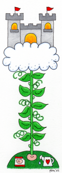Jack And The Beanstalk Book - Beanstalk Clipart