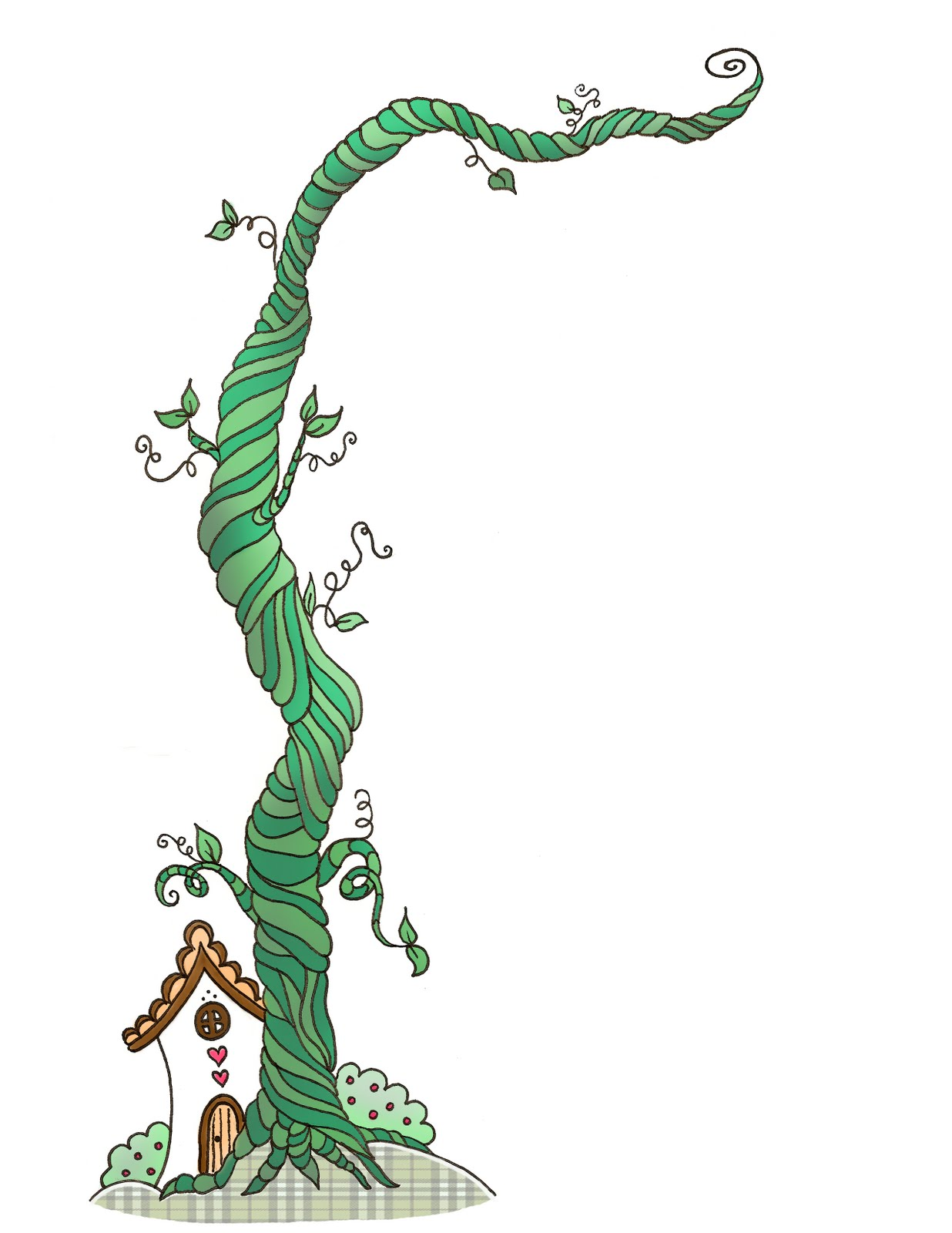 Jack From Jack And The Beanst - Beanstalk Clipart
