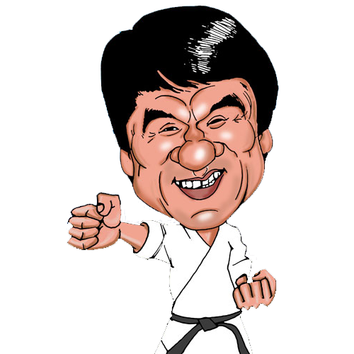 Jackie Chan Clipart-Clipartlook.com-500