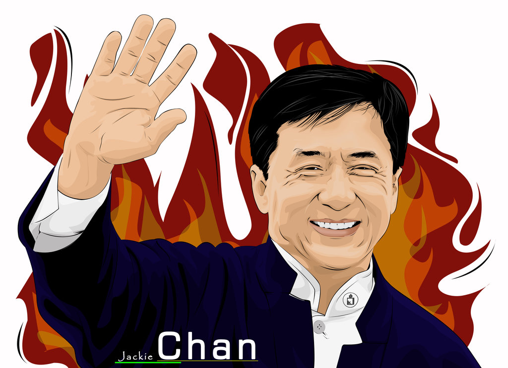 Jackie Chan by Krisdiantoro ClipartLook.-Jackie Chan by Krisdiantoro ClipartLook.com -13