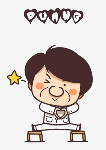 jackie chan cartoon, Cartoon, Hand Painted, Funny PNG Image and Clipart