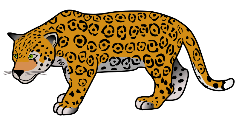Jaguar Clip Art-Jaguar Clip Art-0