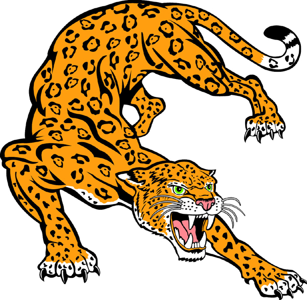 Jaguar Mascot Sports Decal Make It Your -Jaguar Mascot Sports Decal Make It Your Own-19