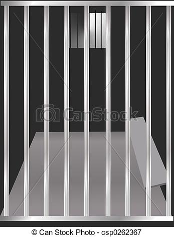 ... Jail Cell - Prison cell illustration.