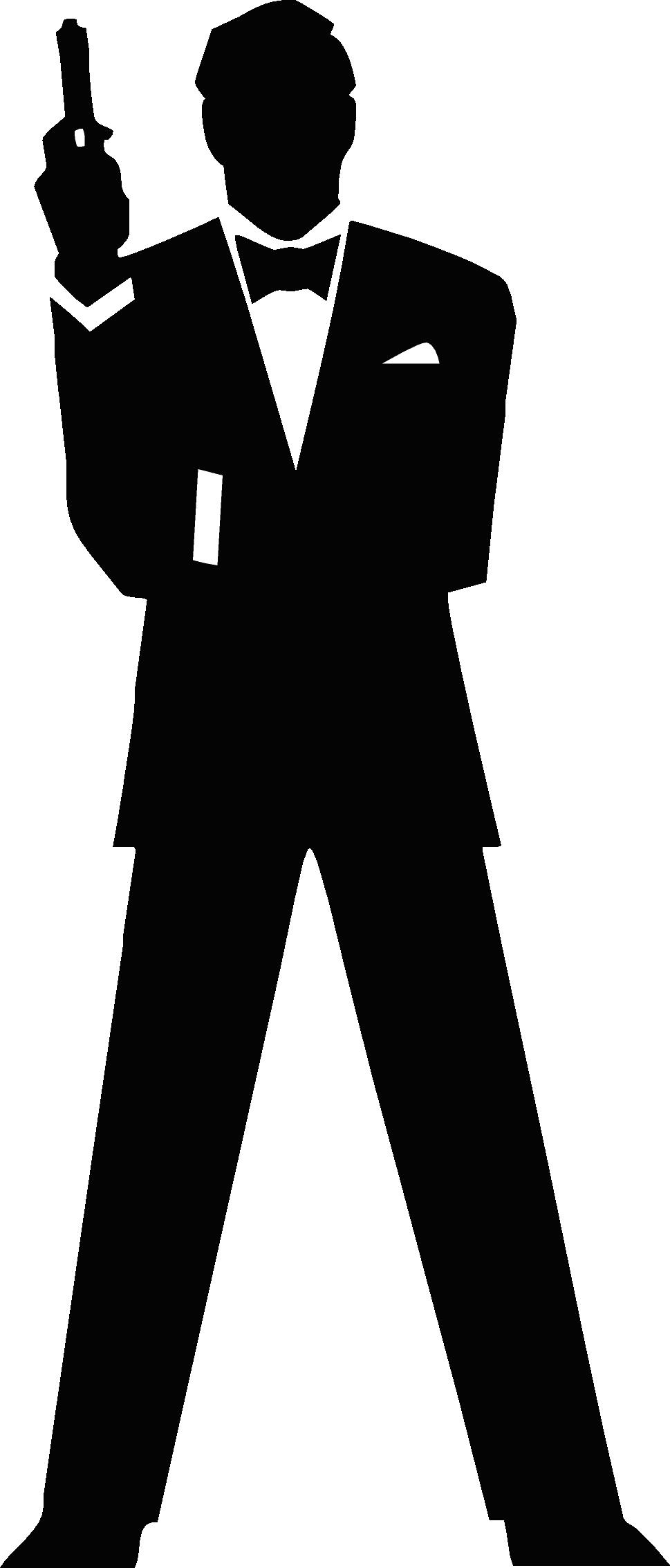 Agent Clipart: 007 James Bond Clipart-Agent clipart: 007 James Bond Clipart-4