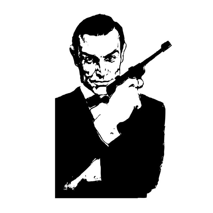 James Bond 007 Design SVG, DXF, EPS, Png-James Bond 007 design SVG, DXF, EPS, Png, Cdr, Ai,-14