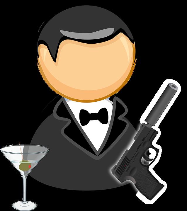 James Bond Aracısı Siyah Takım Elbise-james bond aracısı siyah takım elbise papyon-15