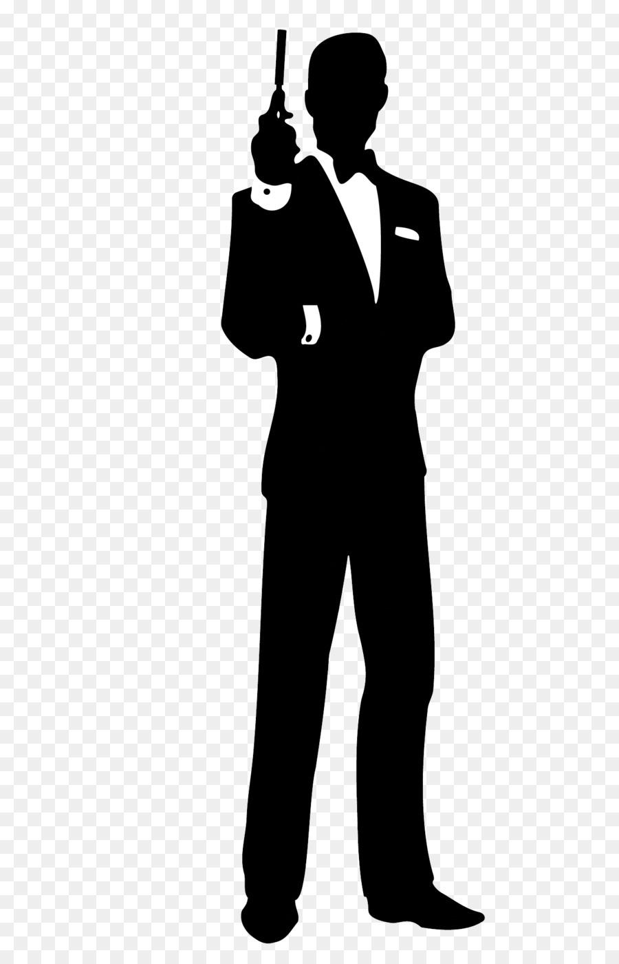 James Bond Film Series Silhouette Clip A-James Bond Film Series Silhouette Clip art - james bond-16