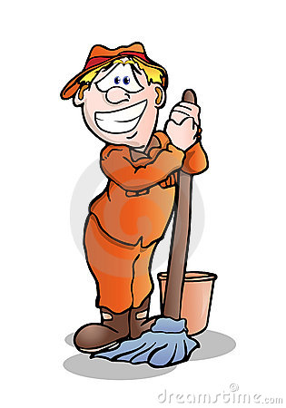 Janitor Clip Art-Janitor Clip Art-8