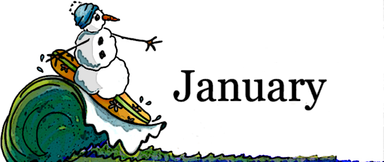 January Clip Art Image-January clip art image-5