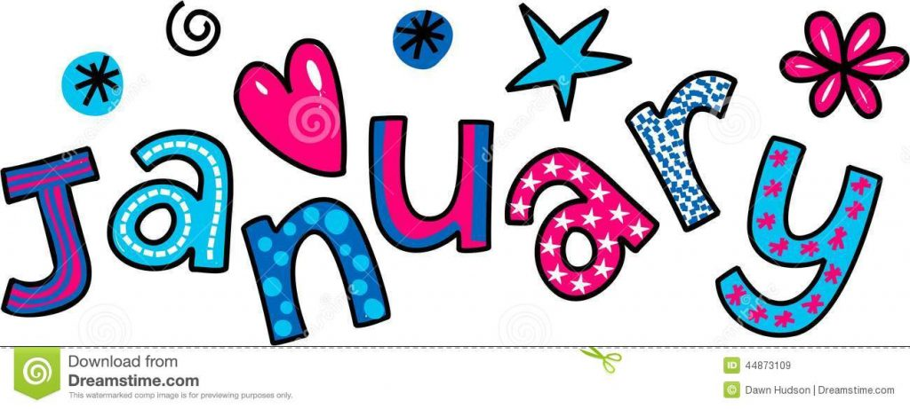 January Clipart Images Month Of January Clipart Clipart Kid Free