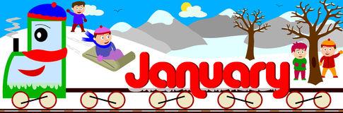 January Royalty Free Stock .-January Royalty Free Stock .-11