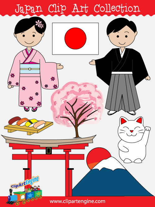 Japan Clip Art Collection