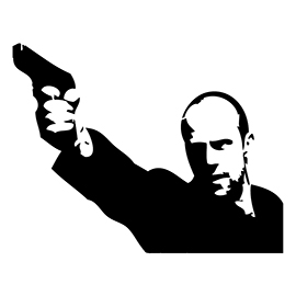 Jason Statham Clipart-Clipartlook.com-270