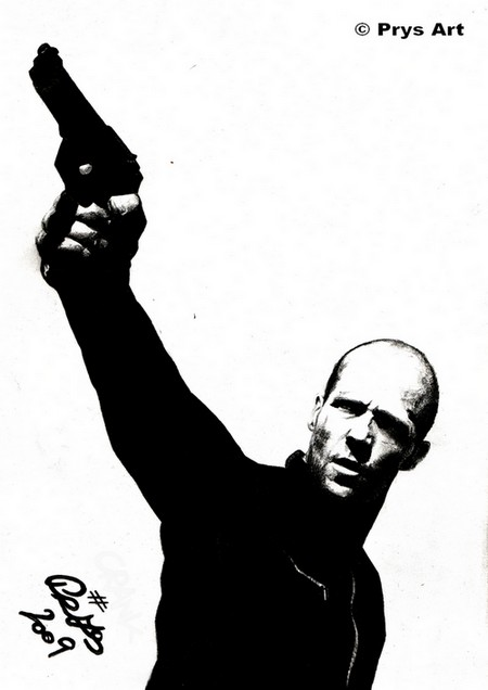 Jason Statham by PrysMiller ClipartLook.com