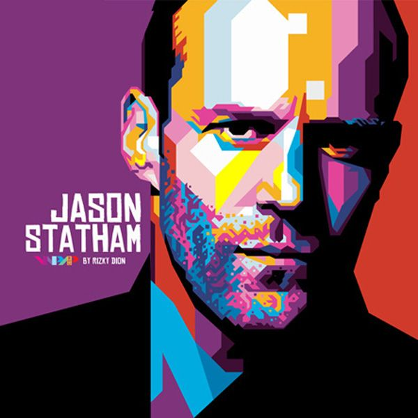 Jason Statham WPAP By Rizki Dion-Jason Statham WPAP by Rizki Dion-18