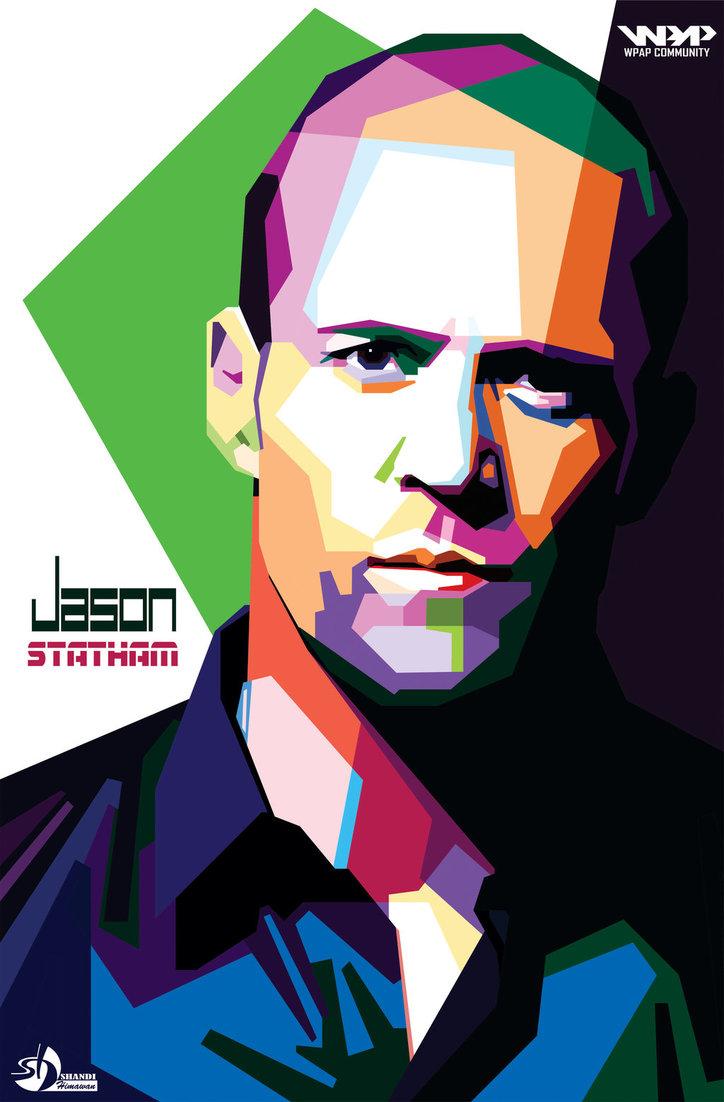 Jason Statham WPAP by shandihimawan ClipartLook.com