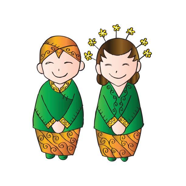 Cute bridal couple java. Sketchy style. -Cute bridal couple java. Sketchy style. vector art illustration-9
