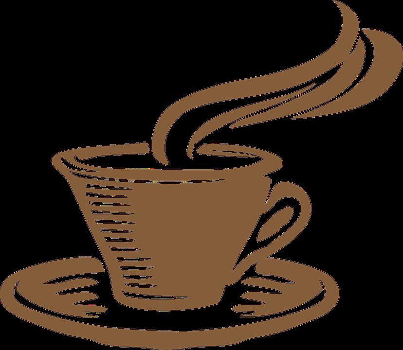 tea cup gray coffee aroma java steam breakfast