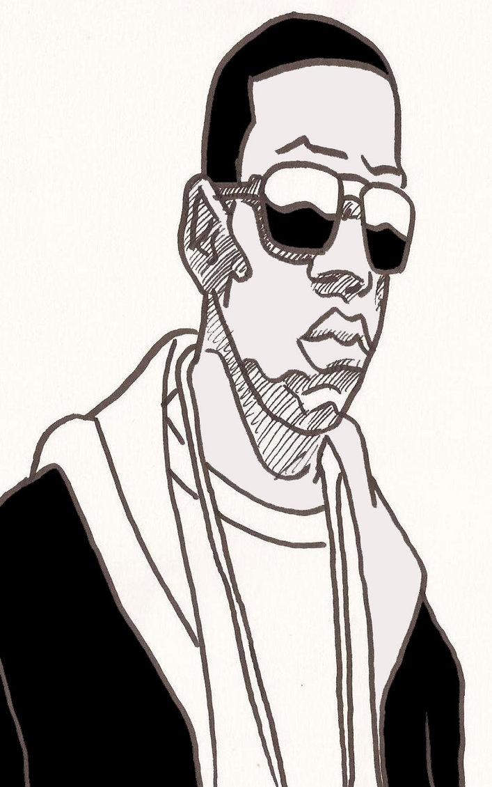 Jay Z By BronzeAthlete ClipartLook.com -Jay Z by BronzeAthlete ClipartLook.com -8