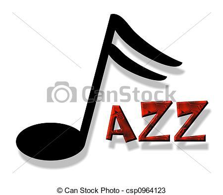 ... jazz - an illustration of the word jazz