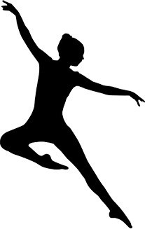 Jazz Dancer Silhouette Clipart-Jazz Dancer Silhouette Clipart-16