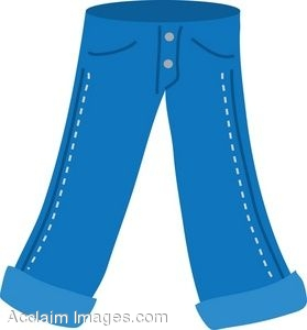 Jeans Clipart-Clipartlook.com-279