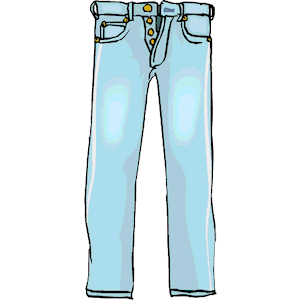 Jeans Clipart-Clipartlook.com-300