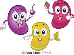 Jellybean Smiling Clipartby cthoman2/599-Jellybean Smiling Clipartby cthoman2/599; Jellybean Mascot - Illustration of Jellybean Mascots Holding.-14