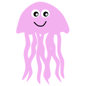 Jellyfish Clipart #9684-Jellyfish Clipart #9684-7