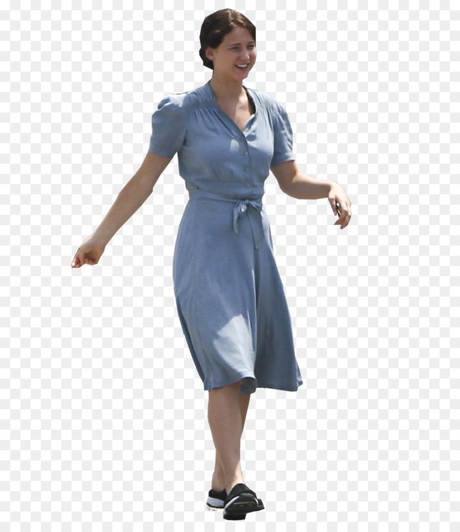 Clip art - Jennifer Lawrence 778*1028 transprent Png Free Download - Blue,  Standing, Neck.