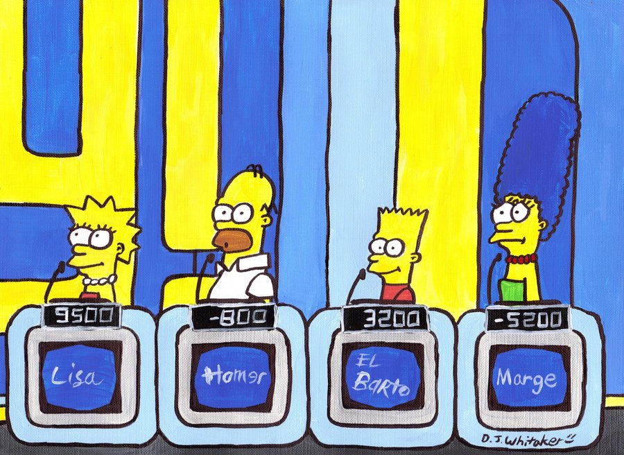 jeopardy clipart - Jeopardy Clip