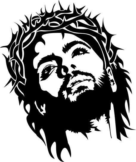 Jesus Christ Face-Jesus Christ Face-11
