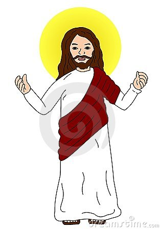 Jesus Christ Holding A Sheep Clipart Fre-Jesus Christ Holding A Sheep Clipart Free Clip Art Images-10
